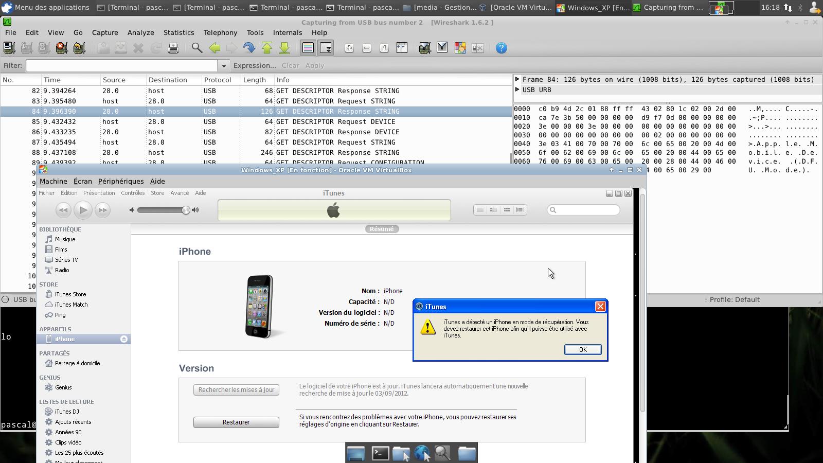 Smartphone vs Smartphone Ownage PoC - Android ironha1l Spy