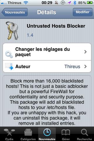 Untrusted Hosts Blocker